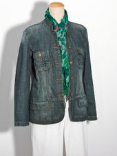 Ulla popken denim jacket