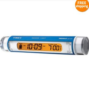 Timex alarm clock flashlight