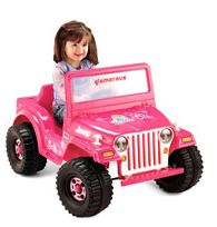 Fisher Price Barbie Jeep