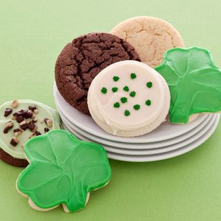 St patricks day cookie sampler