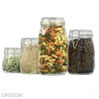 Anchor hocking glass canister set
