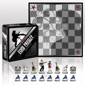 Elvis chess set