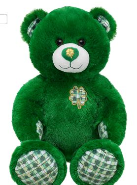 St. Patrick's Day Build A Bear