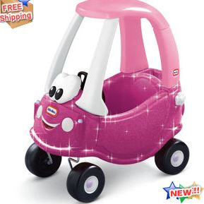 Cozy coupe princess with glitter