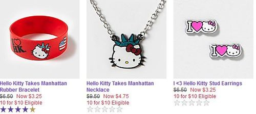 Hello kitty claires
