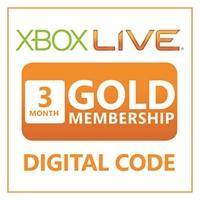 X-box live 3 months