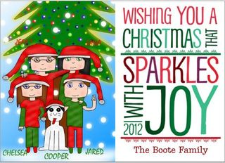 Christmas card cardstore
