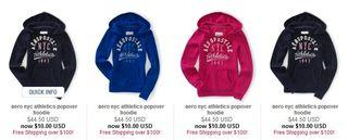 Aero hoodies