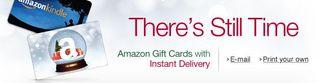 Amazon e-gift