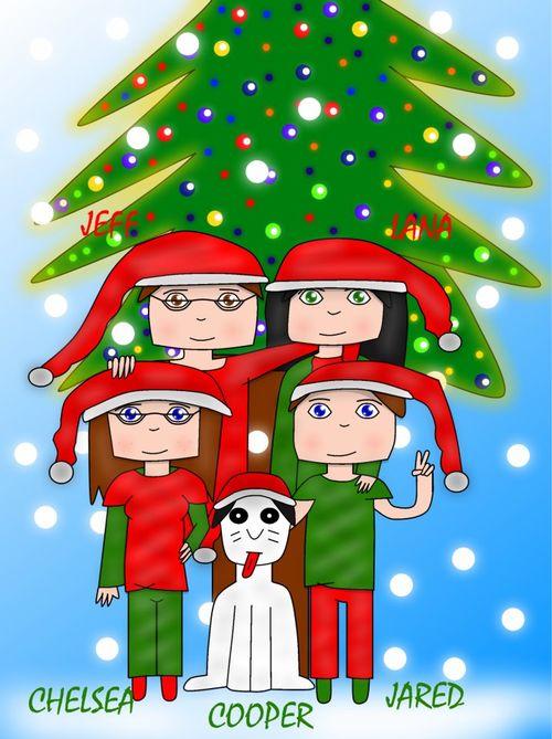 Christmas card2012