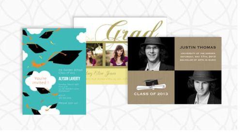 Ink garden graduation cards