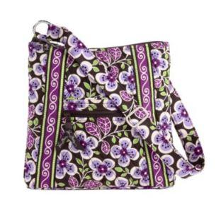 Vera bradley plum petals hipster