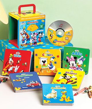 Disney book and cd carry case
