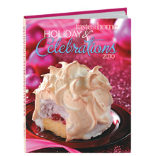 Taste of home holiday cookbook