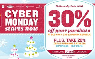 Old navy cyber monday