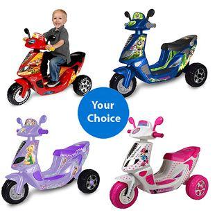 Walmart disney scooters