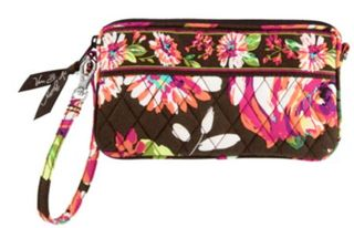 Vera bradley english rose wristlet