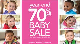 Carter's baby sale 70% off