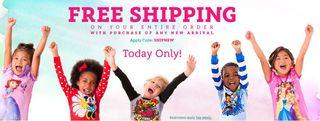 Disney free shipping