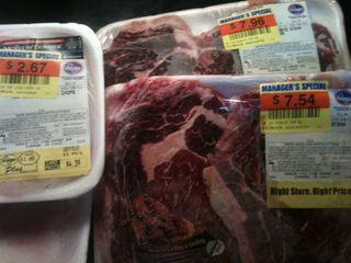 Markdown meat