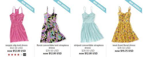 Aeropostale dresses