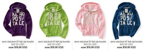 Aeropostale hoodies