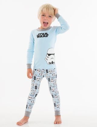 Hanna andersson star wars storm trooper pajamas