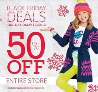 Ps aeropostale black friday