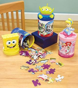 Licensed kids puzzles