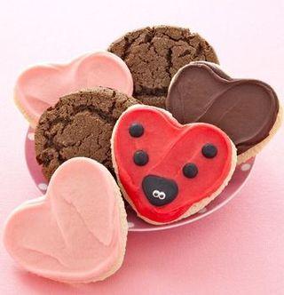 Cheryl's valentine cookies