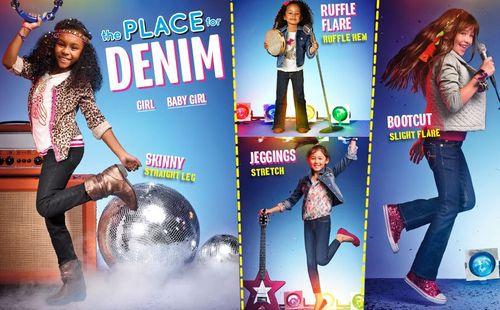 Children's place denim free shipping
