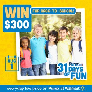 Purex 31 days of fun