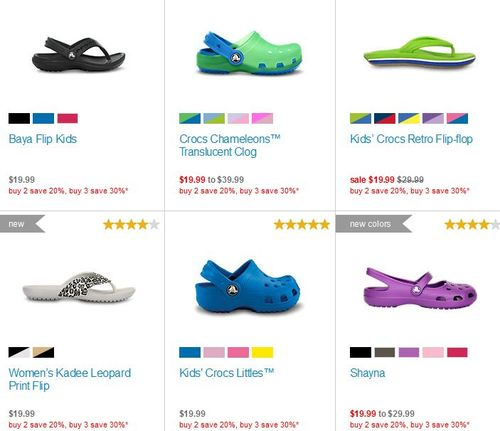 Crocs labor day sale 2