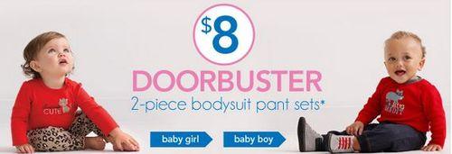 Carter's doorbusters $8
