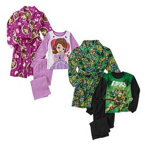 Kids' license character 3 piece robe set