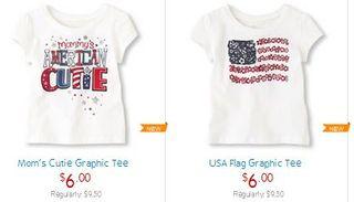 Children's place tshirts