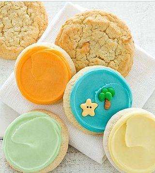 Beach cookie sampler