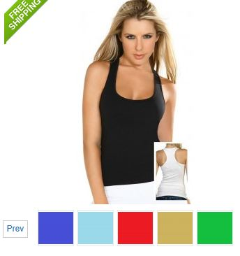 Seamless tank tops