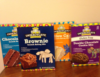 Immaculate baking mixes