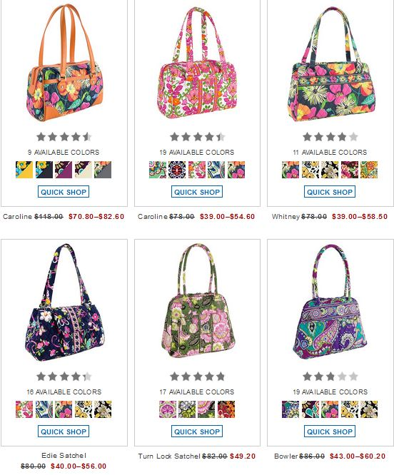 Vera Bradley Buy One Sale Item Get Another 50 Off