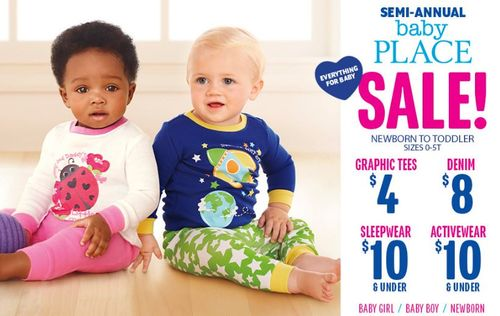 Children's place baby sale