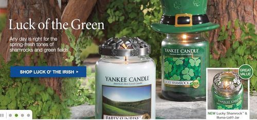 Yankee candle $20 off $45