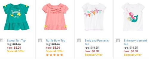 Gymboree $5 deals 1