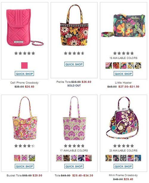 Vera bradley sale free shipping 2