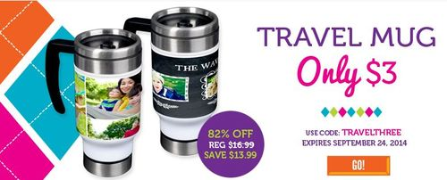 York travel mug
