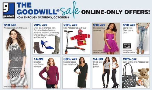 Bon ton goodwill sale