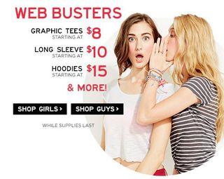 Aero web busters