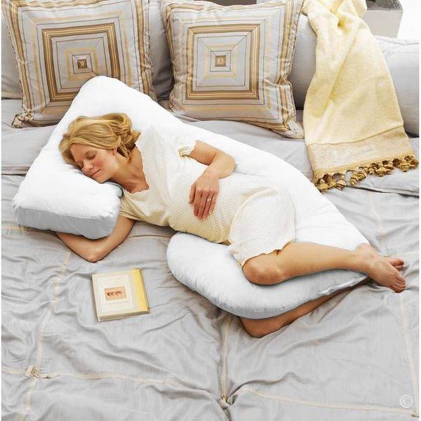 Как спать беременной двойней