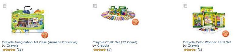 Crayola at amazon
