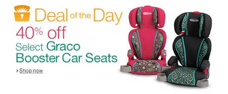 40% off Graco Highback Turbobooster Car Seats - $28.99